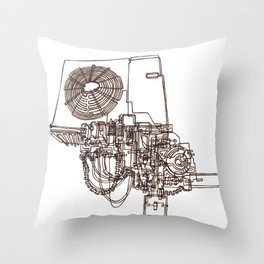 Conditioning  Throw Pillow