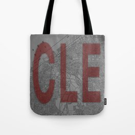 HOME IS CLE Tote Bag