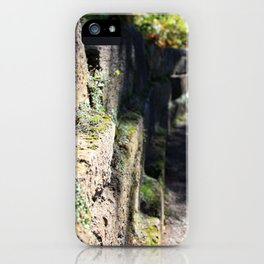 Side View of the Wall iPhone Case