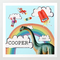 cooper Art Print