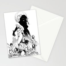 Island of the Vampire Witches Stationery Cards