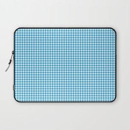 Oktoberfest Bavarian Blue Houndstooth Check Laptop Sleeve