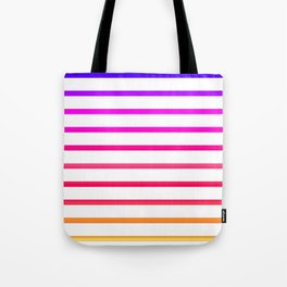 Warm lines Tote Bag
