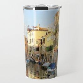 Venetian Canals Travel Mug