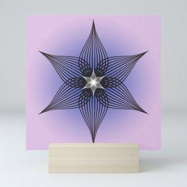 Abstract flower Mini Art Print