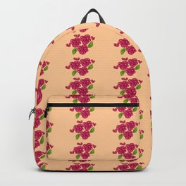 rose watercolor1 Backpack