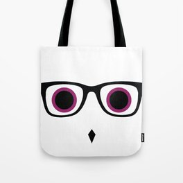 Hipster Owl No.4 Tote Bag