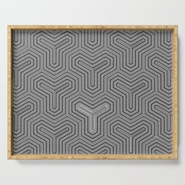 Odd one out Geometric Serving Tray