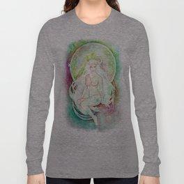 Goddess of Taurus - An Earth Element Long Sleeve T-shirt