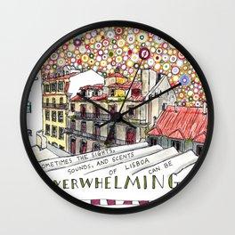 overwhelming Wall Clock