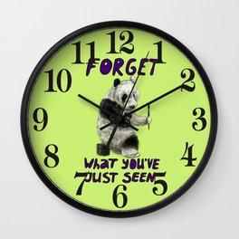 Conspiracy // false panda Wall Clock