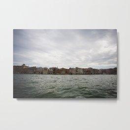 Venezia dal Mare Metal Print