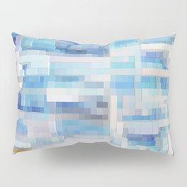 Abstract blue pattern 2 Pillow Sham