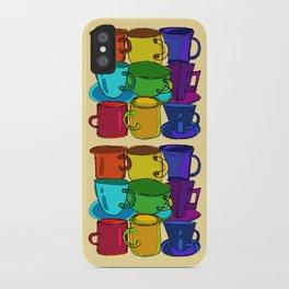 Tea Cups and Coffee Mugs Spectrum iPhone Case