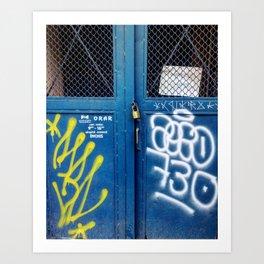 Cluj Graffiti #4 Art Print