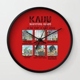 Survival Guide Wall Clock