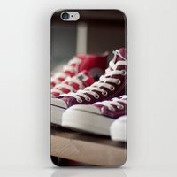 converse iPhone & iPod Skins featuring Converse by whitney b