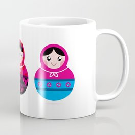 New floral Matroska set Coffee Mug