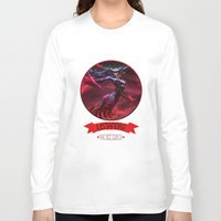 league of legends Long Sleeve T-shirts featuring League Of Legends - Lissandra by TheDrawingDuo