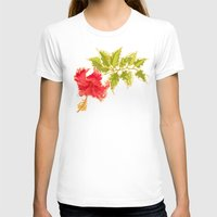 hibiscus T-shirts featuring Hibiscus by Eugeniam