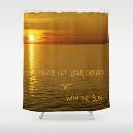 Swedish Islands Dream Shower Curtain