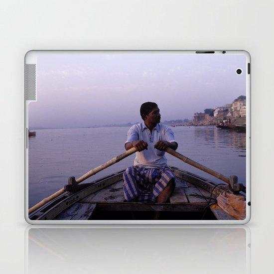 On The Ganges Laptop & iPad Skin