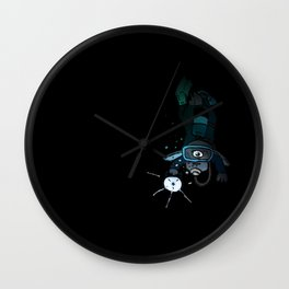 365 Days of Art: Abyssmal Wall Clock