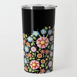 Millefiori Floral Horizon Travel Mug