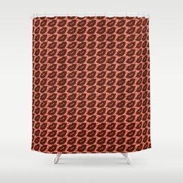 Sexy Lips Seamless Pattern Shower Curtain