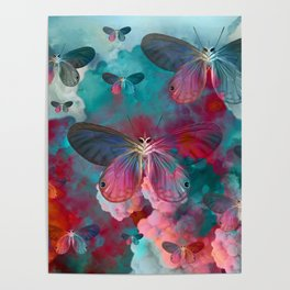 """""""Spring Butterfly love"""" Poster"""