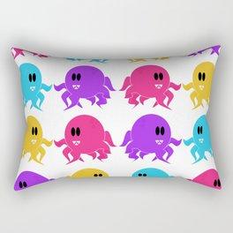 Alien Octopus Pattern Rectangular Pillow