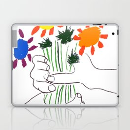 Pablo Picasso Bouquet Of Peace 1958 (Flowers Bouquet With Hands), T Shirt, Artwork Laptop & iPad Skin