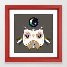 Magic Owl Framed Art Print