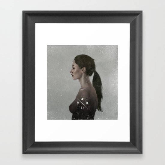 Visceral Lullaby  Framed Art Print