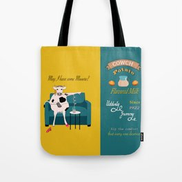 Cowch Potato flavored milk Tote Bag