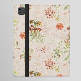 Carnivorous Floral iPad Folio Case