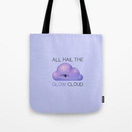 Glow Cloud Tote Bag