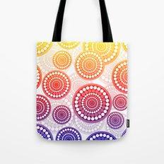 Bright Modern Circles Tote Bag