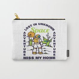 Lost In Unkown Astronaut Carry-All Pouch