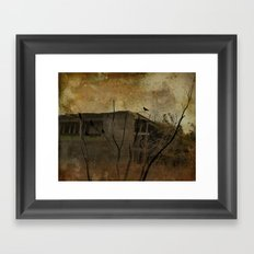 Grungy Old Shed Framed Art Print