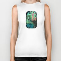 paradise Biker Tanks featuring Paradise by Butch McLogic
