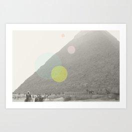 Pyramid//Nine Art Print