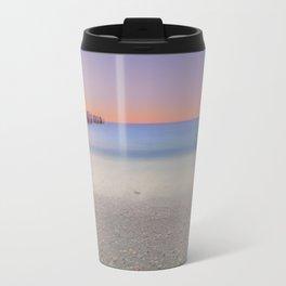 Naples Beach Sunset at 3rd Ave Travel Mug