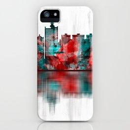 Lagos Nigeria Skyline iPhone Case