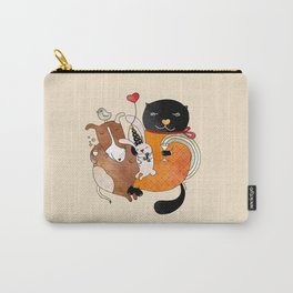 Celebrate Animals Carry-All Pouch