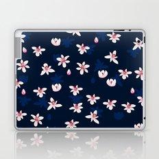 Little Flowers Blues Laptop & iPad Skin