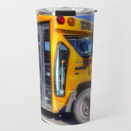 American School Bus Travel Mug