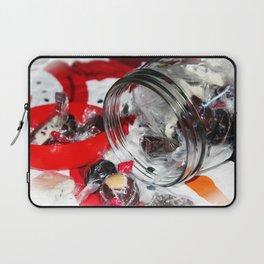 Christmas Candy Jar Laptop Sleeve