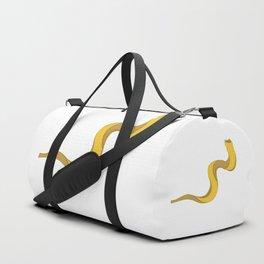 Jewish shofar yellow gold Duffle Bag