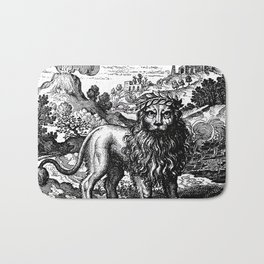 Theosophie & Alchemie - The Green Lion Bath Mat